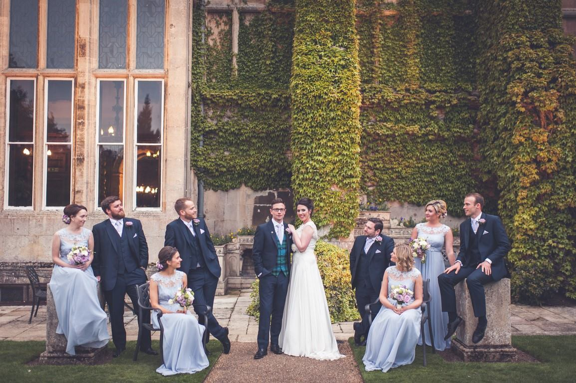 Isabel and Keir, Burghley House