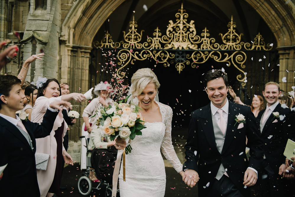 Katie and Ben, Peterborough Cathedral & Stapleford Park
