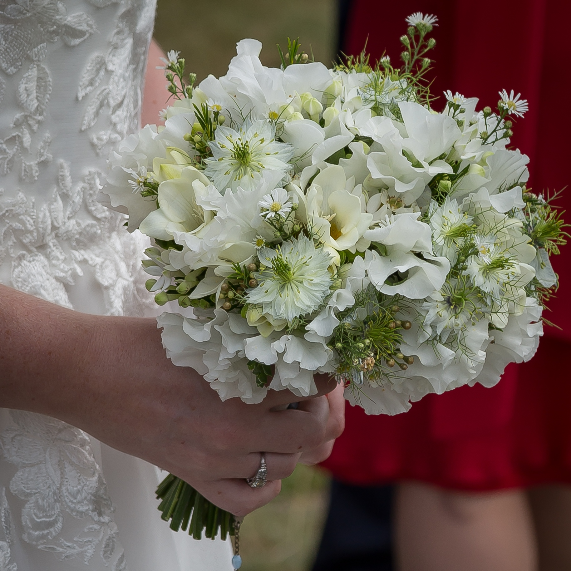 Bridal handtied wedding bouquets