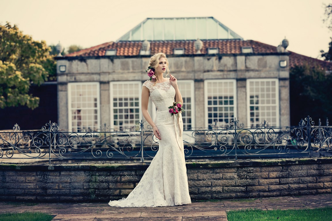 Photo shoot at Irnham Hall